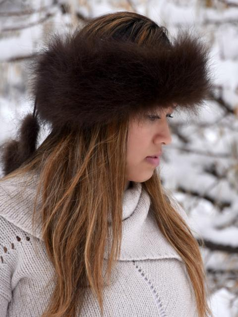 Bison Fur Headband